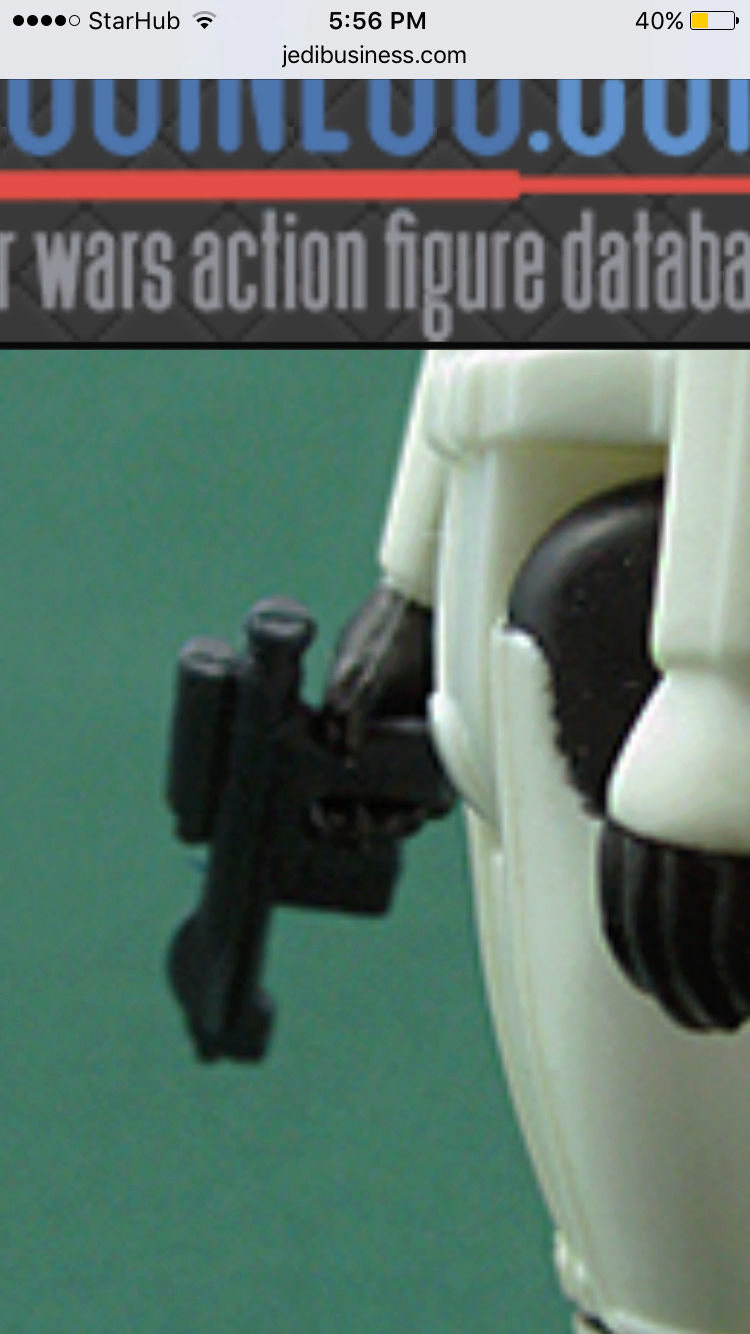 Another image of a trilogo luke storm trooper with a blue imperial blaster Img_5433