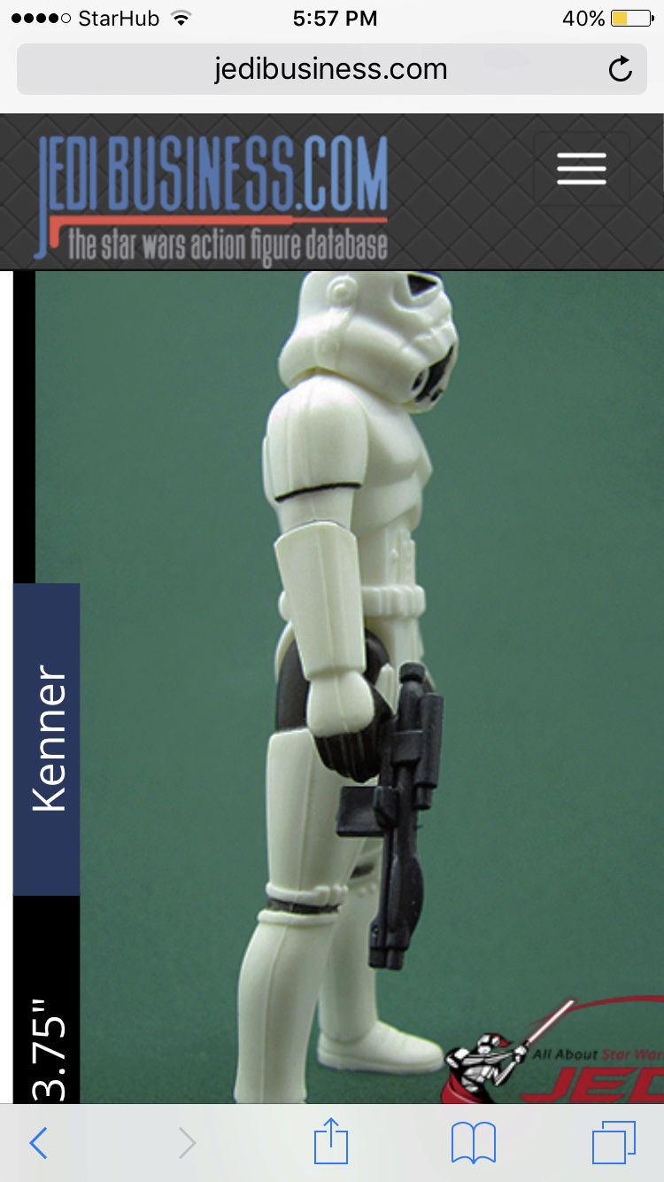 Another image of a trilogo luke storm trooper with a blue imperial blaster Img_5435