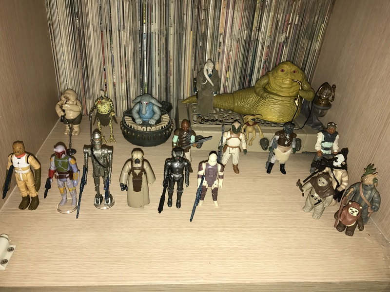 My humble little loose Star Wars collection. Img_5710