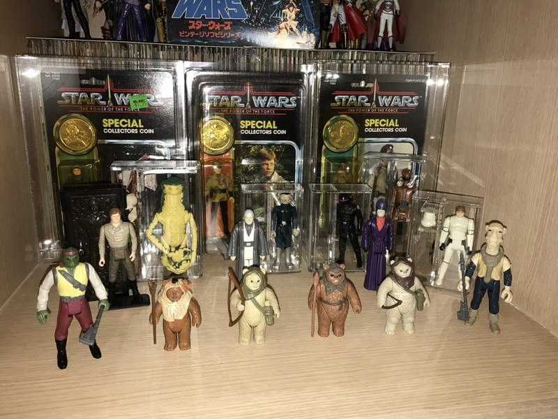 My humble little loose Star Wars collection. Img_5711