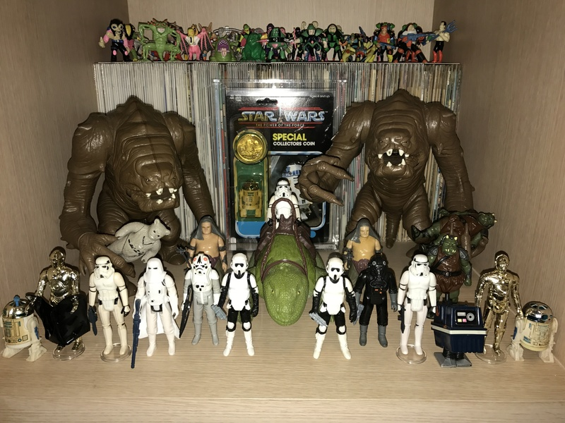 My humble little loose Star Wars collection. Img_5713