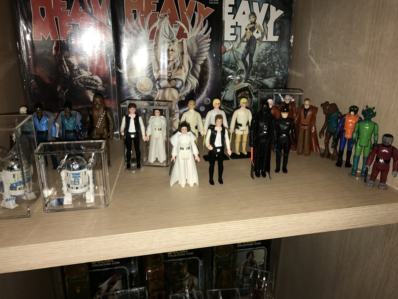 My humble little loose Star Wars collection. Img_5714