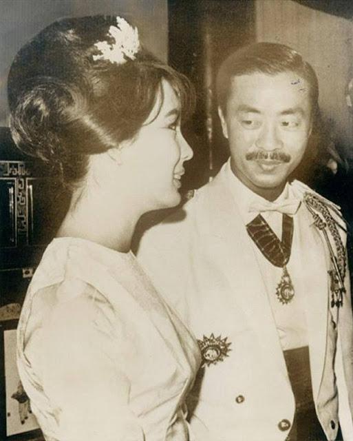 Chùm ảnh đẹp của 1 lãnh đạo VNCH với những năm tháng bên 1 hoa khôi Sài Gòn 1d12