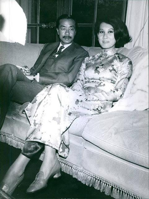 Chùm ảnh đẹp của 1 lãnh đạo VNCH với những năm tháng bên 1 hoa khôi Sài Gòn 1ddd10