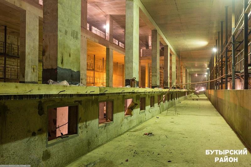 Метро Селигерская. Планируемая дата открытия конец 2017 года Ribba510