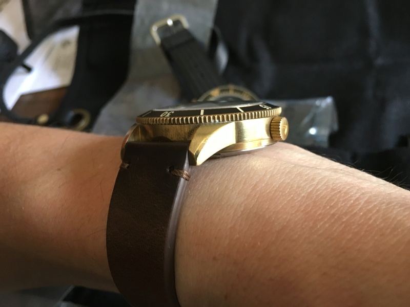 Ventus Mori Brass Diver 300 Img_6711