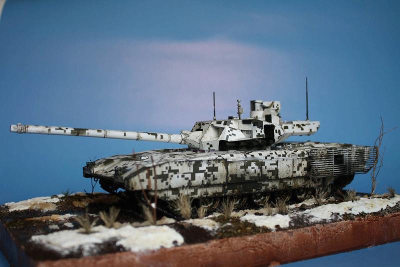 Т-14 , пришла весна! 910