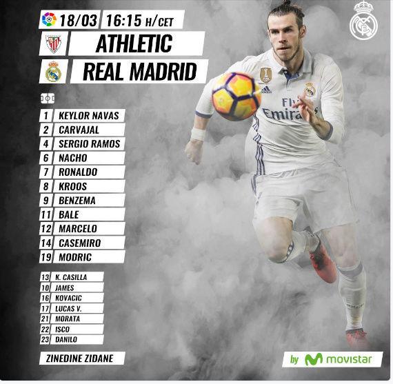 Athletic Club- Real Madrid Alinea10