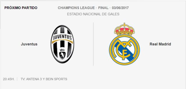 Juventus- Real Madrid Final10