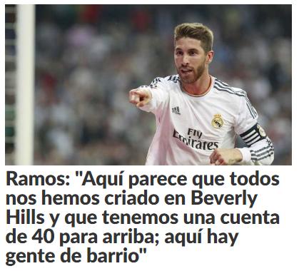 Vuelta Champions Atlético de Madrid - Real Madrid Ramos11
