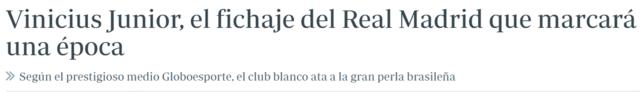 Real Madrid temporada 2017/18, fichajes, rumores, bajas... - Página 2 Vini10