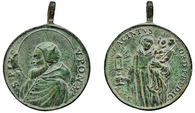 San Pío V / San Jacinto de Polonia o Cracovia (R.M. SXVIII-C126) C-05911