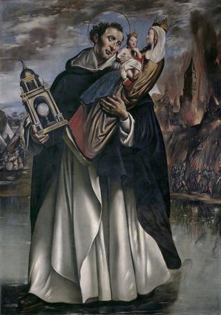 San Pío V / San Jacinto de Polonia o Cracovia (R.M. SXVIII-C126) Jacint16