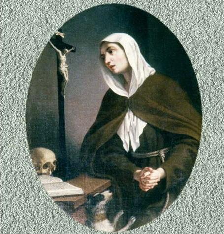 Beato Juan de Prado / Santa Margarita de Cortona (R.M. SXVIII-O342) Margar10