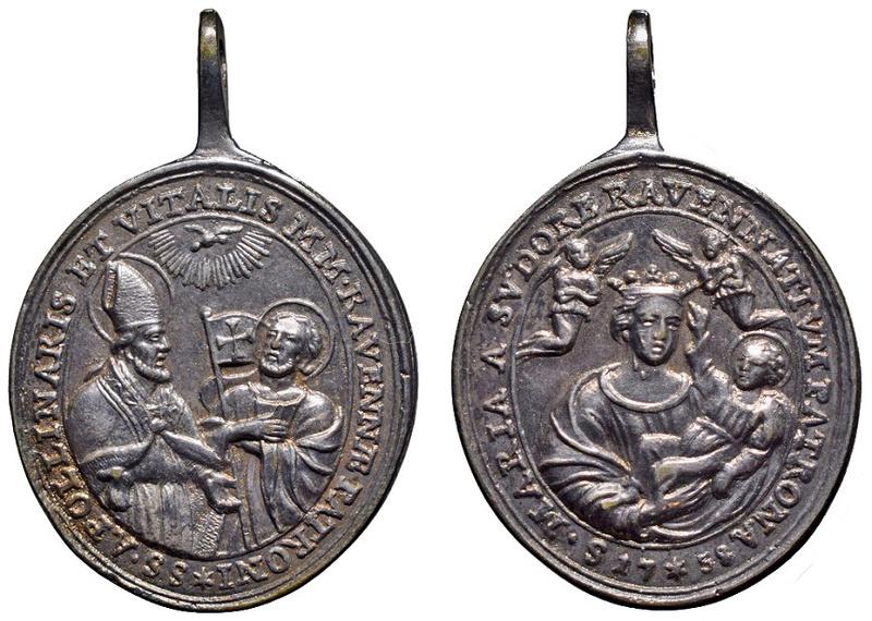San Apolinar y san Vital / Virgen del Sudor (Madonna del Sudore) (R.M. SXVIII-O338)(MAM) O-26911