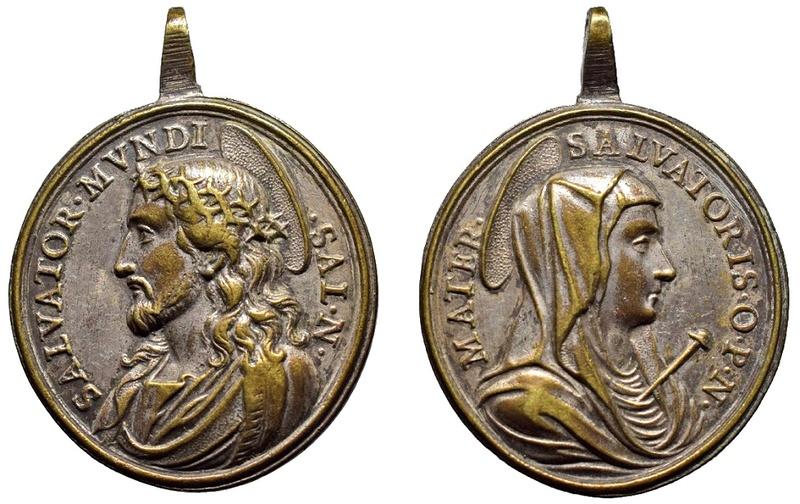 Salvator Mundi / Mater Salvatoris (R.M. SXVIII-O336) O-28011