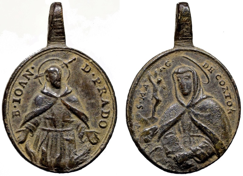 Beato Juan de Prado / Santa Margarita de Cortona (R.M. SXVIII-O342) O-29610