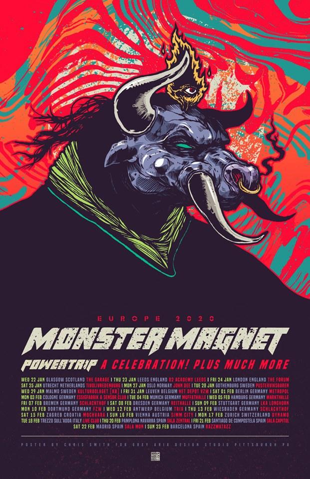 "MONSTER MAGNET - Gira especial ""POWERTRIP"" + CLÁSICOS / Febrero 2020! 72312210"