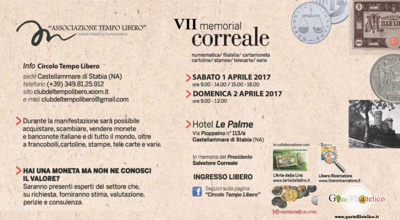 VII Memorial Correale - 1/2 Aprile 2017 - Castellammare di Stabia (Napoli) Volant10