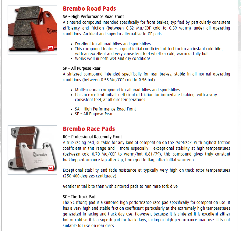 Pastilhas de travao para motociclo ---- quais as melhores? - Página 2 Captur14