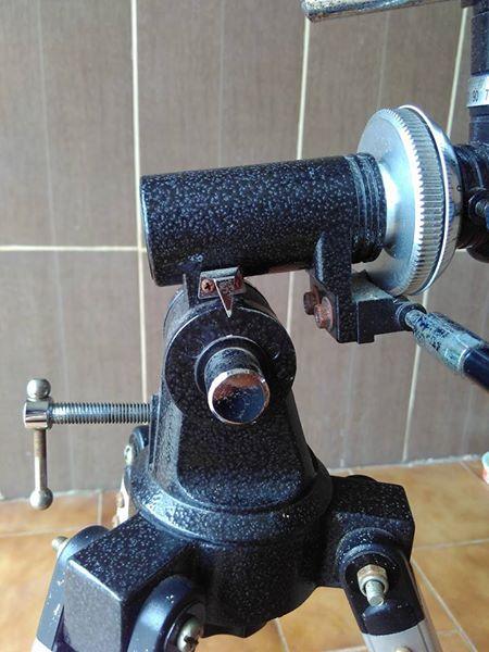 Telescópio chegou, mais a montagem não era o que me falaram. 16730310