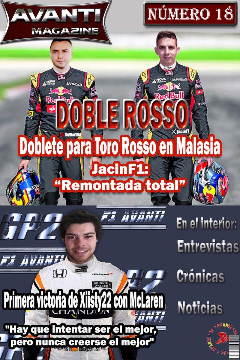 MAGAZINE F1 AVANTI.NÚMERO 18 (14/04/2017) 01_por16
