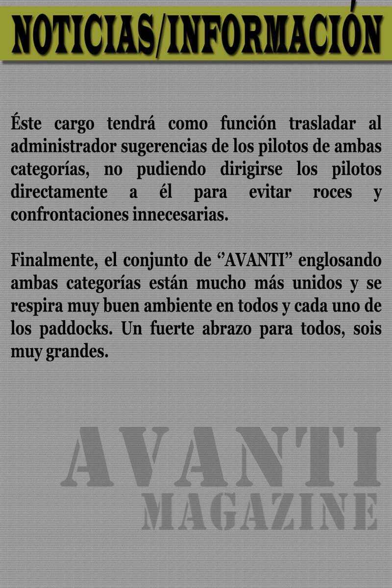 MAGAZINE F1 AVANTI.NÚMERO 14 (05/03/2017) 06_not12
