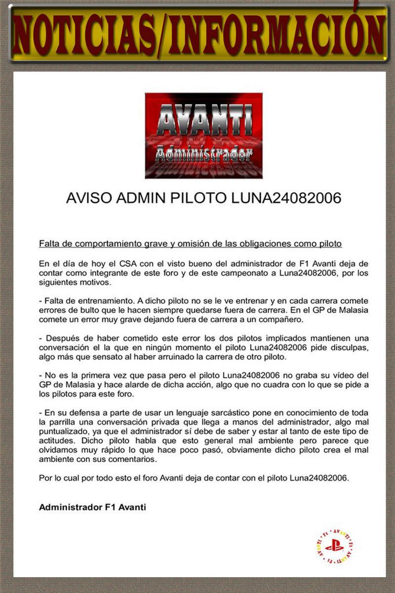 MAGAZINE F1 AVANTI.NÚMERO 18 (14/04/2017) 09_not12