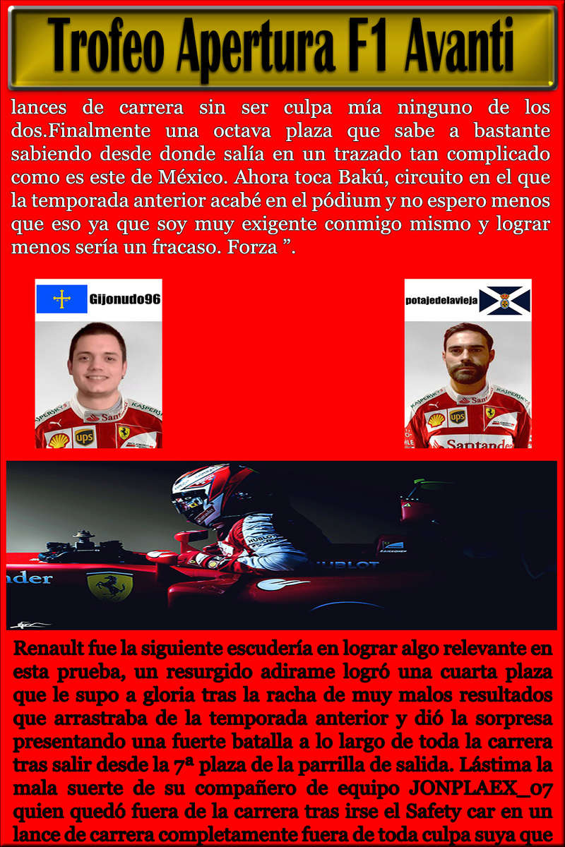 MAGAZINE F1 AVANTI.NÚMERO 16 (25/03/2017) 13_cry10