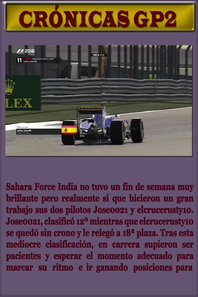 MAGAZINE F1 AVANTI.NÚMERO 18 (14/04/2017) 52_gp210