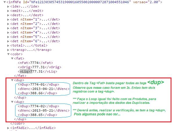 "[Resolvido]Importar Xml Lote ""Importar Duplicata"" Duplic10"