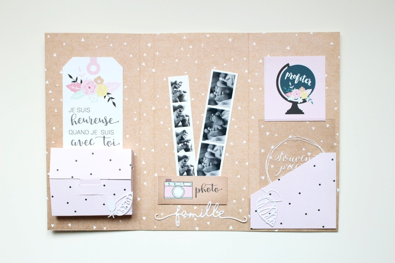 Make and Take Anne - Mini album Bienvenue Mt10