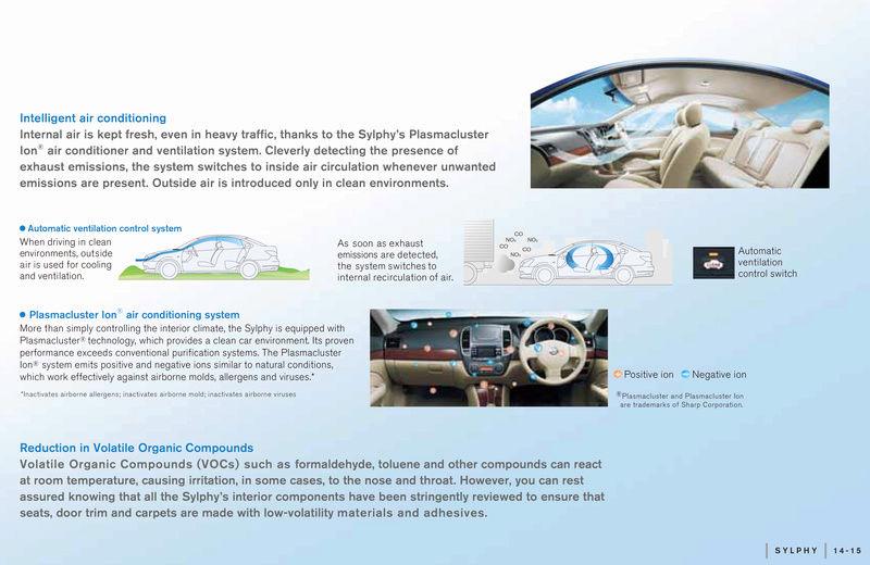 Instalação e detalhes sobre purificador de ar Nissan Sylphy10