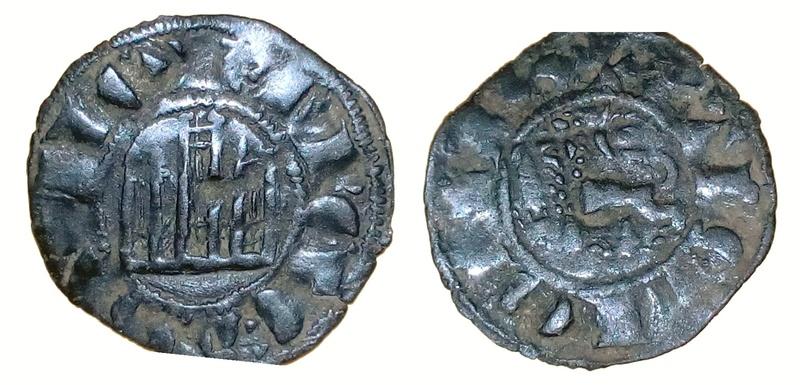 Dinero de pepion de Fernando IV de Castilla 1295-1312  Dinero10