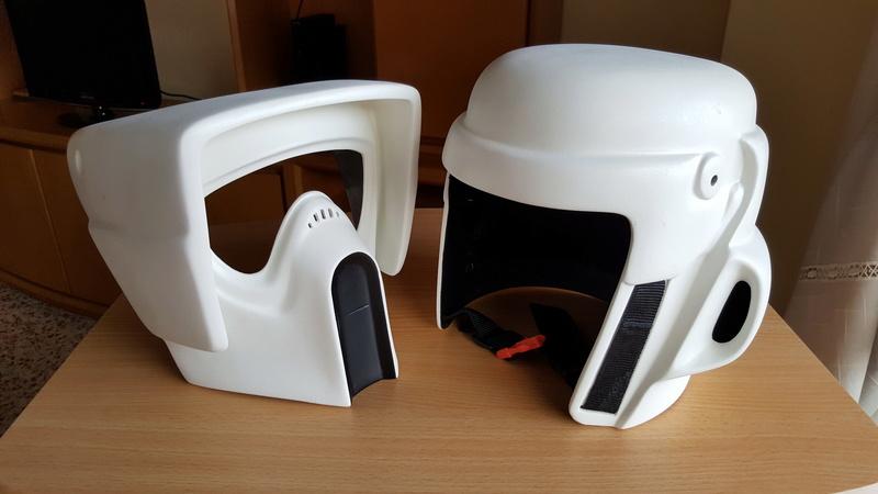 """Biker Scout Helmet Project"" 20170236"