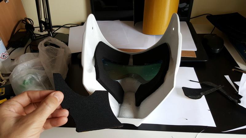 """Biker Scout Helmet Project"" 20170319"