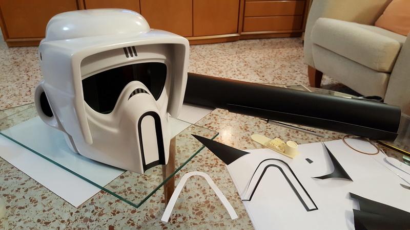"""Biker Scout Helmet Project"" 20170334"