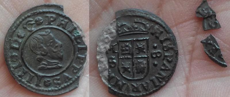 La p...ada de una moneda cristalizada  20170311