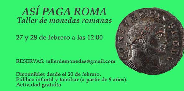 Taller didáctico de moneda romana Museo_10