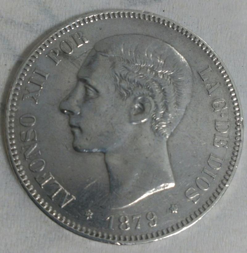 5 Pesetas 1879  (*18-79). Alfonso XII. EM-M. _2017030