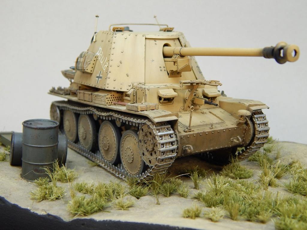 German 7,5cm Pak40 Fgst. Pz.Kpfw. Marder III Ausf.H Dscn5260