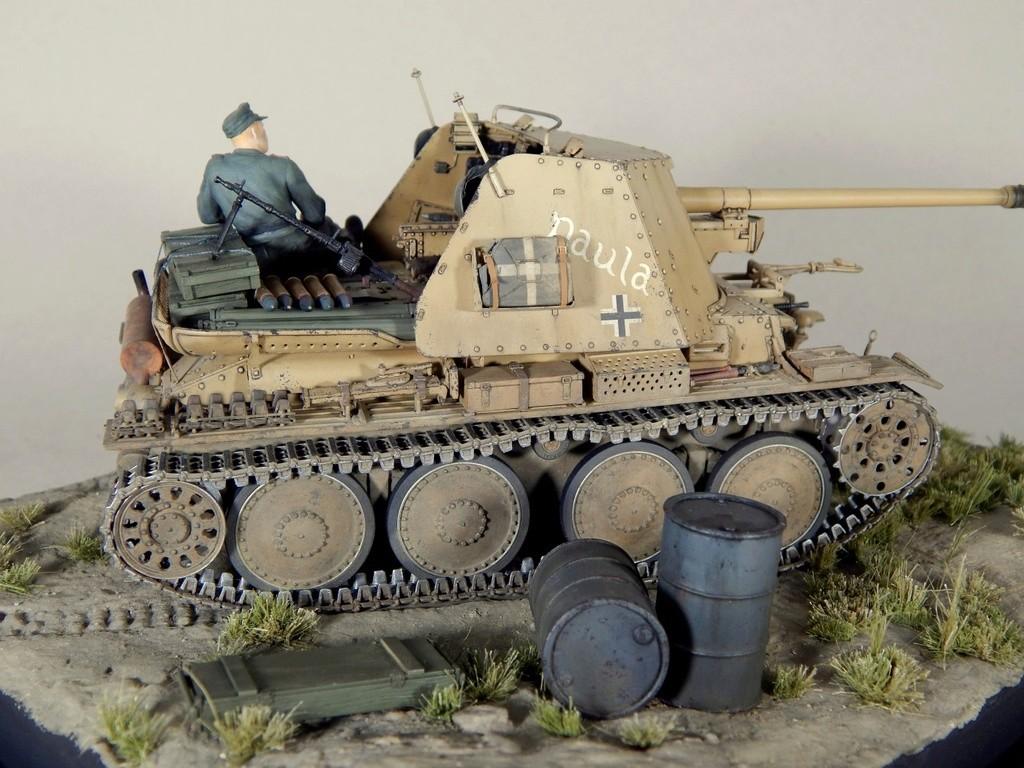 German 7,5cm Pak40 Fgst. Pz.Kpfw. Marder III Ausf.H Dscn5336