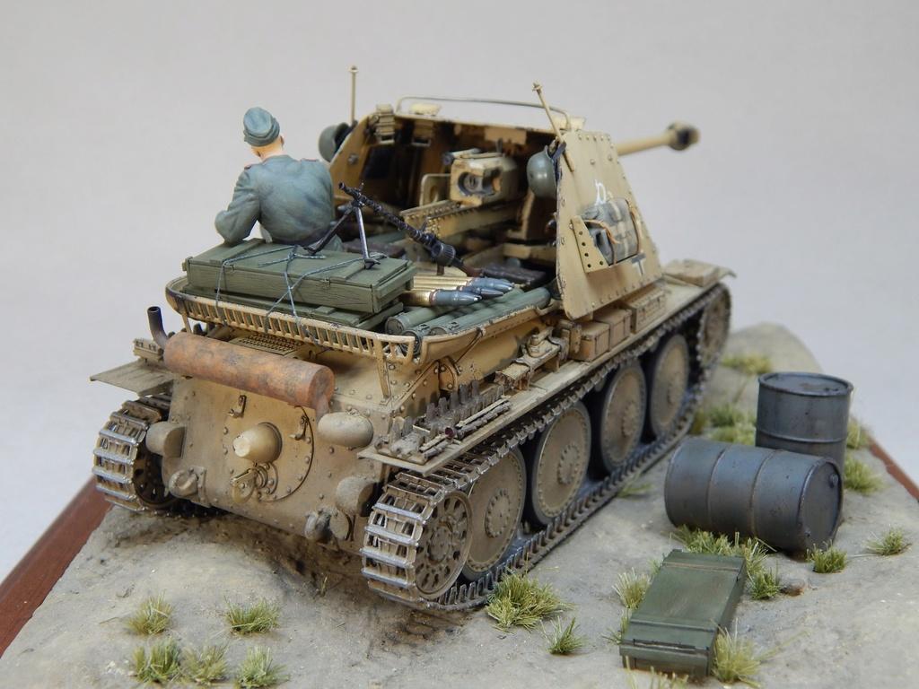 German 7,5cm Pak40 Fgst. Pz.Kpfw. Marder III Ausf.H Dscn5338