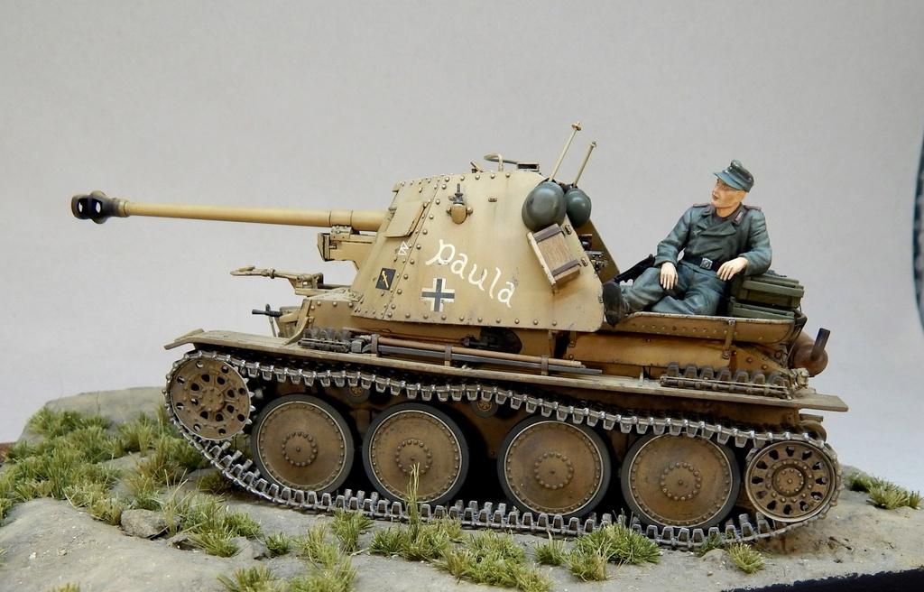 German 7,5cm Pak40 Fgst. Pz.Kpfw. Marder III Ausf.H Dscn5340