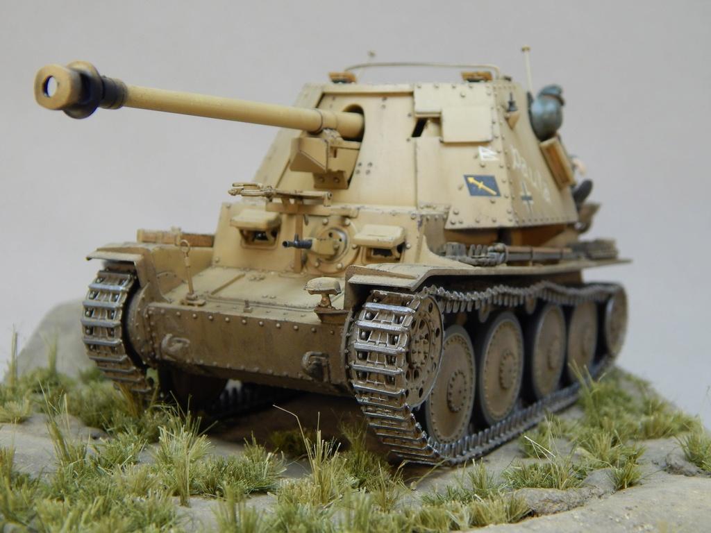 German 7,5cm Pak40 Fgst. Pz.Kpfw. Marder III Ausf.H Dscn5342