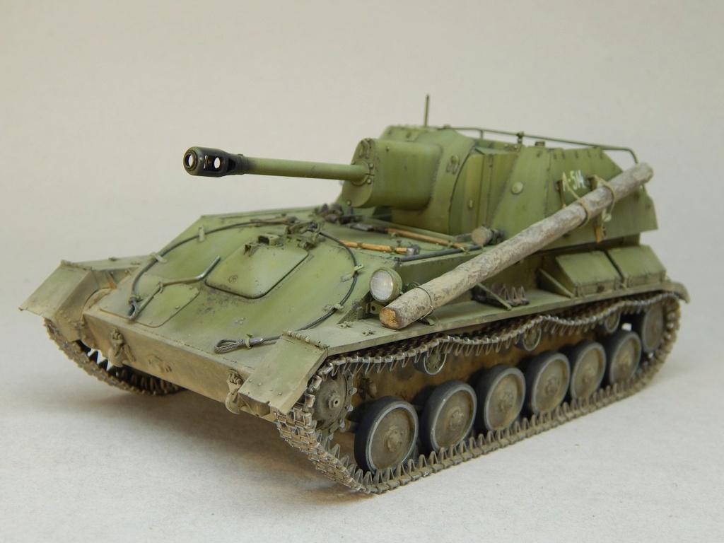 Самоходная артиллерийская установка Су-76М Dscn5351