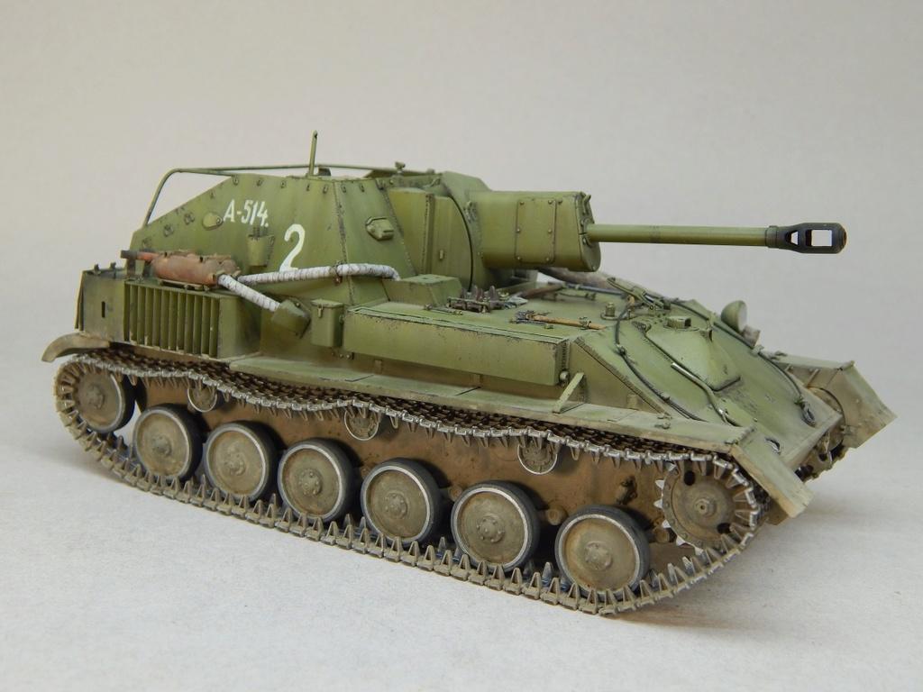 Самоходная артиллерийская установка Су-76М Dscn5354