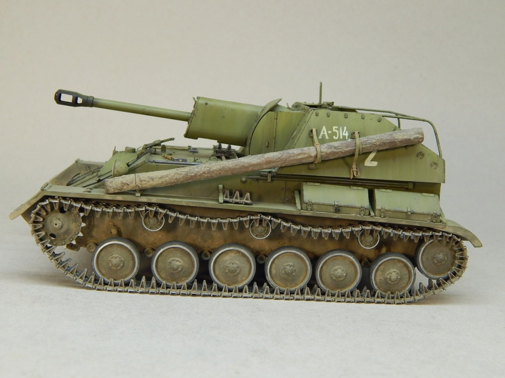 Самоходная артиллерийская установка Су-76М Dscn5355