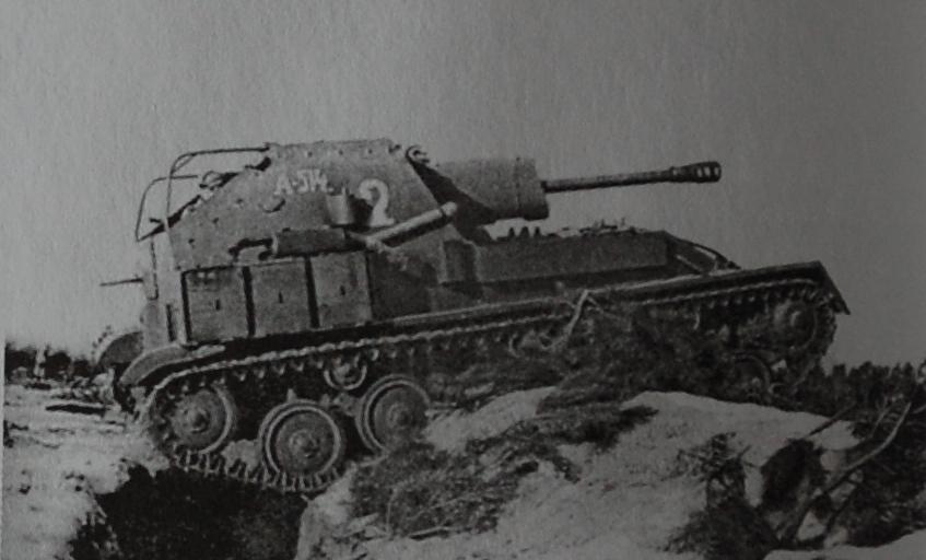 Самоходная артиллерийская установка Су-76М Y-76_a11