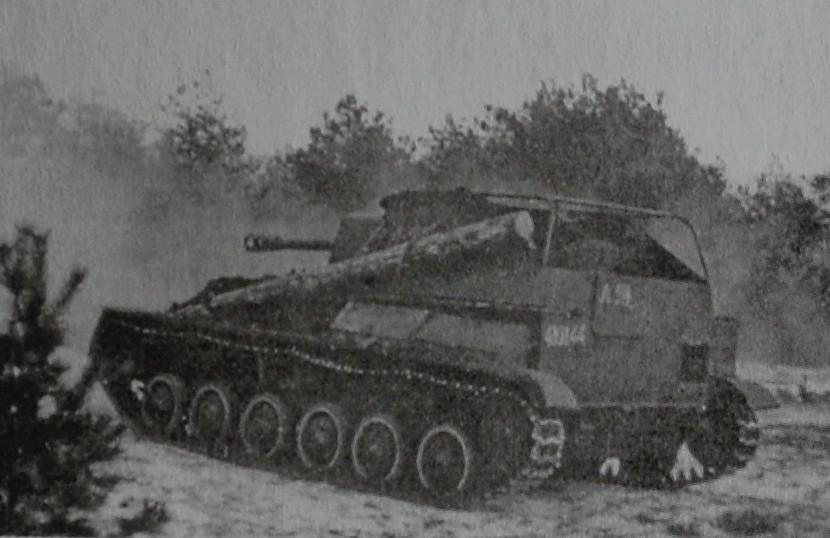 Самоходная артиллерийская установка Су-76М Yi_y-711